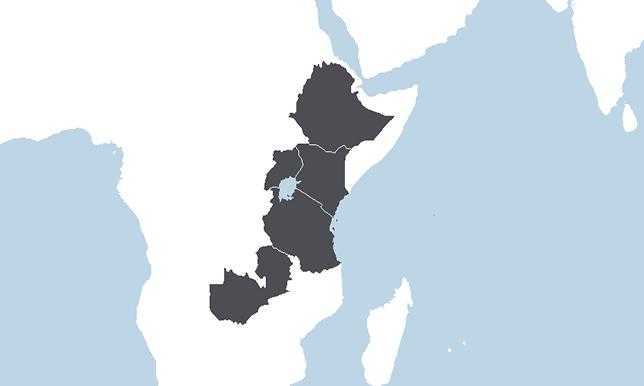 Eteläinen Keski-Afrikka