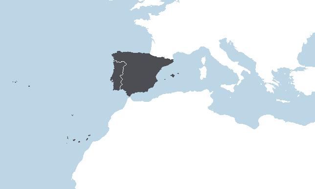 Espanja, Portugali