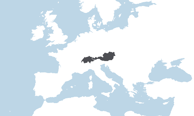 Itävalta, Sveitsi