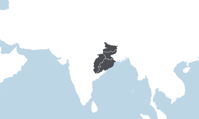 Central East India