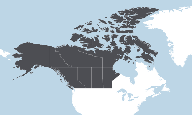 Canadá Occidental, Alaska