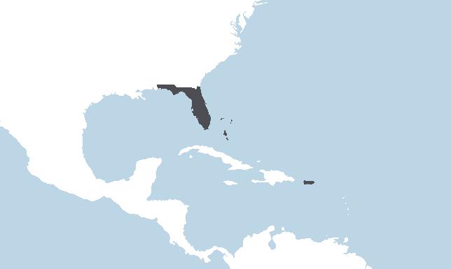 Floride, Caraïbes