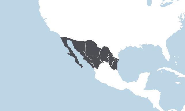 Šiaurės Meksika