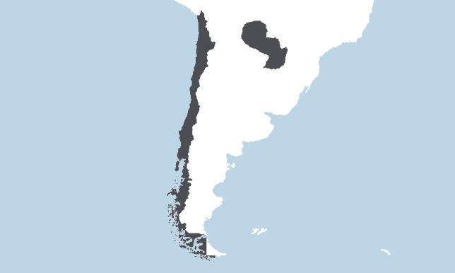 Čilė, Paragvajus