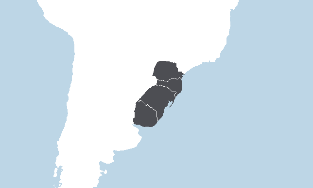 Etelä-Brasilia, Uruguay