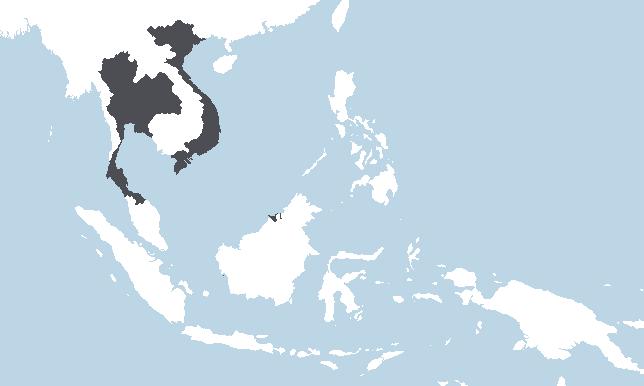 Thailand, Vietnam, Brunei