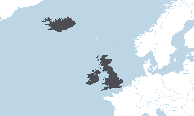 Šiaurės Vakarų Europa